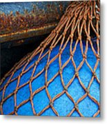 Nets And Knots Number One Metal Print by Elena Nosyreva