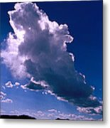 New Mexico Sky Metal Print by Jerry McElroy