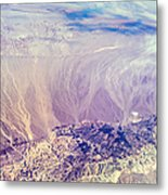 Painted Earth I Metal Print by Jenny Rainbow