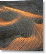Palouse Contours I Metal Print by Latah Trail Foundation