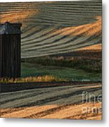 Palouse Sunset Metal Print by Sandra Bronstein