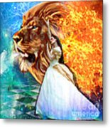 Perfect Peace In Perfect Love Metal Print by Dolores Develde