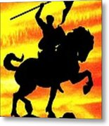 Power To Change Metal Print by Mike Flynn