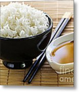 Rice Meal Metal Print by Elena Elisseeva