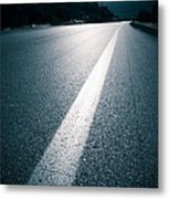 Road Metal Print by Boon Mee