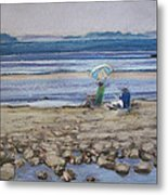 Saltair Metal Print by Grace Keown