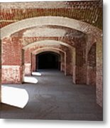 San Francisco Fort Point 5d21546 Metal Print by Wingsdomain Art and Photography