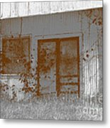 Seen Better Days Metal Print by Connie Fox