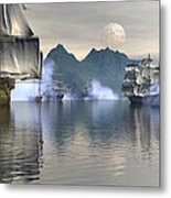 Shelter Harbor 2 Metal Print by Claude McCoy