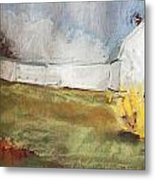 Slowly Comes Spring Metal Print by Grace Keown