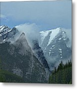 Snow Plumes Metal Print by George Cousins