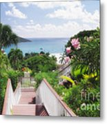 Stairs To Paradise Metal Print by George Oze