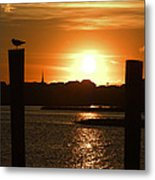Sunrise Over Topsail Island Metal Print by Mike McGlothlen