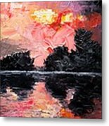 Sunset. After Storm. Metal Print by Sergey Bezhinets
