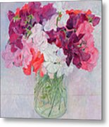 Sweet Peas Metal Print by Ann Patrick