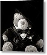 Teddy Bear Groom Metal Print by Edward Fielding