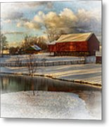 The Color Of Winter Metal Print by Kathy Jennings