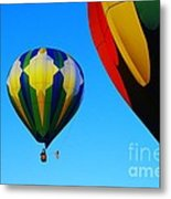 The First One Up  Metal Print by Jeff Swan