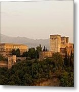 The Fortress On The Hill Metal Print by Mountain Dreams
