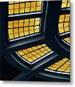 The Glass Ceiling Metal Print by Wendy J St Christopher