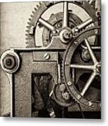 The Machine Metal Print by Martin Bergsma