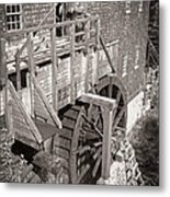 The Old Saw Mill Metal Print by Edward Fielding
