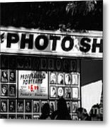The Photo Shop Metal Print by Cheryl Young