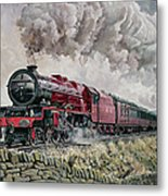 The Princess Elizabeth Storms North In All Weathers Metal Print by David Nolan