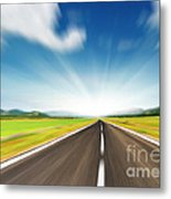 The Speed Metal Print by Boon Mee