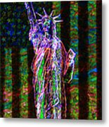 The United States Of America 20130115 Metal Print by Wingsdomain Art and Photography