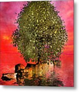 The Wishing Tree Two Of Two Metal Print by Betsy Knapp