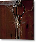 Three Keys Metal Print by Georgia Fowler