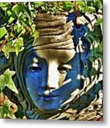 Told In A Garden Metal Print by Helen Carson