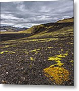 Traveling Down Metal Print by Jon Glaser