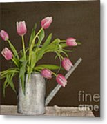 Tulip Bouquet  Metal Print by Alana Ranney