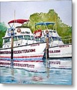 Two If By Sea Metal Print by Jeff Lucas