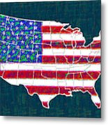 United States Of America - 20130122 Metal Print by Wingsdomain Art and Photography