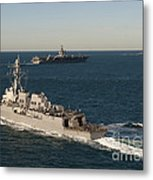 Uss James E. Williams Is Underway Metal Print by Stocktrek Images