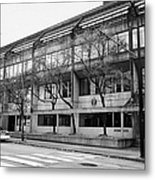 Vancouver Police Department Station 236 Cordova Street Bc Canada Metal Print by Joe Fox