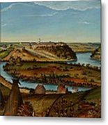 View Of Fort Snelling Metal Print by Edward K Thomas