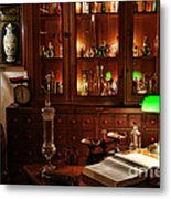 Vintage Apothecary Shop Metal Print by Olivier Le Queinec