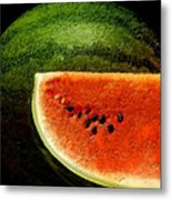 Watermelon Metal Print by David Blank