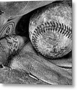 Worn In Bw Metal Print by JC Findley