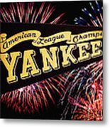 Yankees Pennant 1950 Metal Print by Bill Cannon