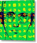 Zodiac Killer With Code And Sign 20130213 Metal Print by Wingsdomain Art and Photography