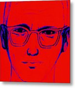 Zodiac Killer With Sign 20130213m128 Metal Print by Wingsdomain Art and Photography