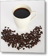 Coffee Metal Print by Photo Researchers, Inc.