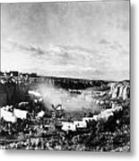 Film: The Covered Wagon Metal Print by Granger
