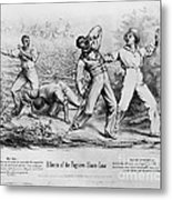 Fugitive Slave Law Metal Print by Photo Researchers
