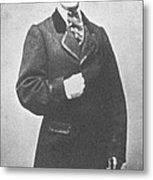 John Wilkes Booth, American Assassin Metal Print by Photo Researchers